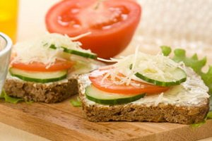полезные бутерброды на завтрак рецепты